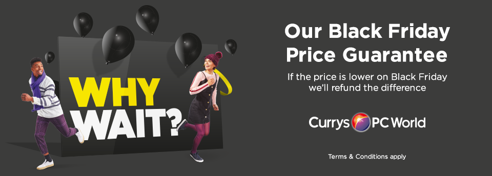 We'll refund the difference if our Black Friday price changes